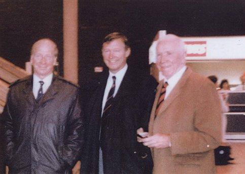 The Holiest Trinity. Happy Birthday Sir Bobby Charlton