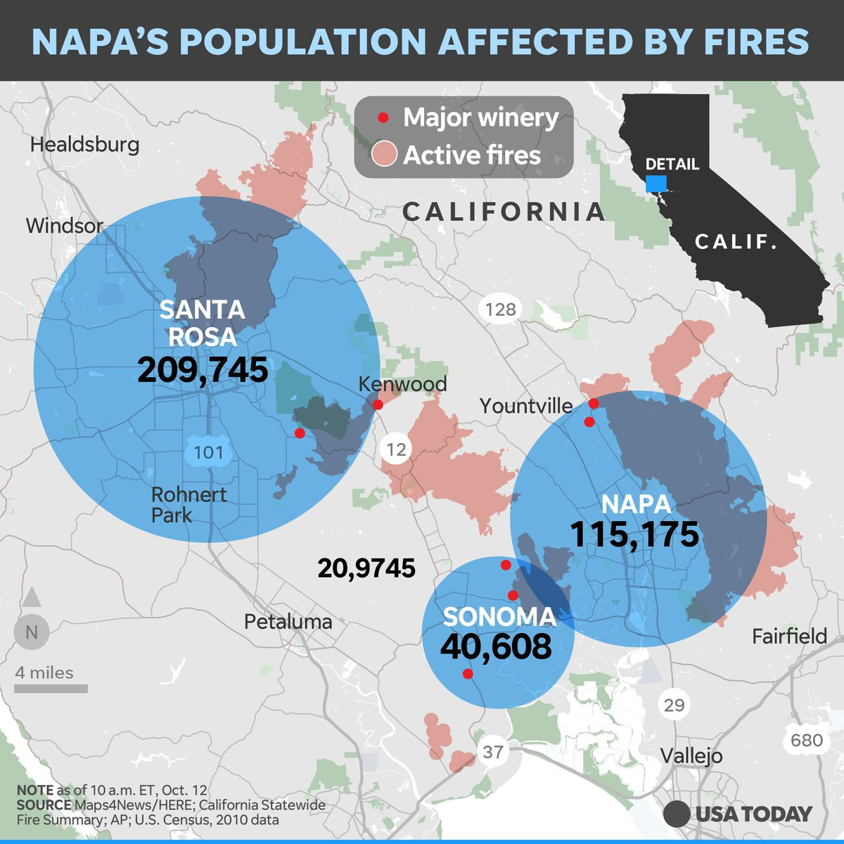When do you evacuate from a wildfire? Not everyone gets the message in California.