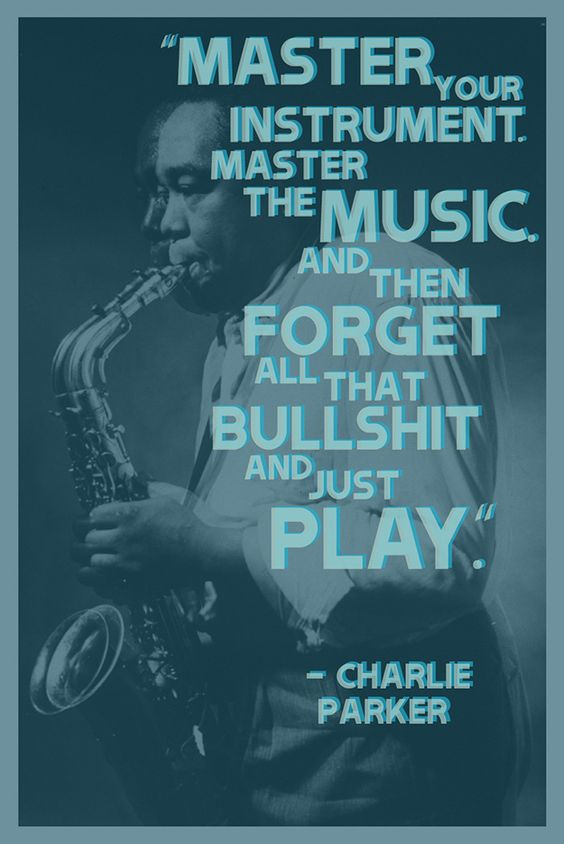 Master the music and just play. https://t.co/hiLN1rkfqq