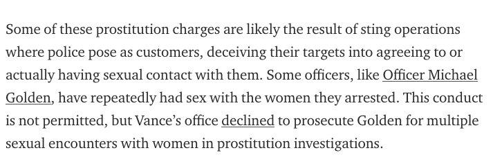 My first piece for @FairPunishment concerns Manhattan DA Cy Vance's double standards. https://t.co/UEAWpBcf3L https://t.co/wM5CSXxh1c