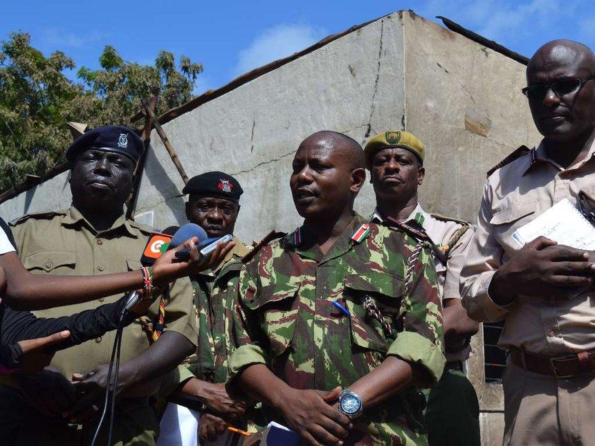 Gun dumped outside chief's office in Kinango