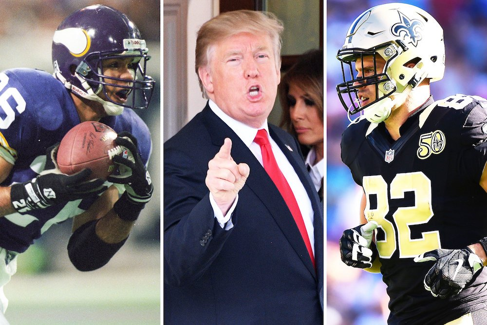 Trump says NFL is soft. NFL vets have something to say about that ➡️ https://t.co/tzDQ03JhUM https://t.co/jz7DFQFKNf