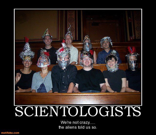 #BrieflyExplainScientology
