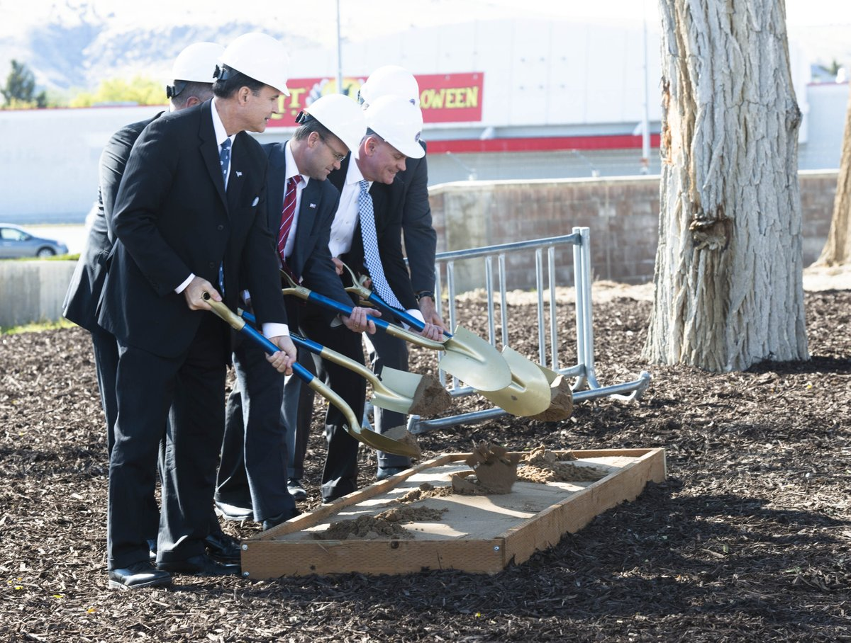 Last week, #FBI held a groundbreaking ceremony for a new data center in Idaho