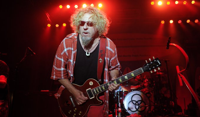 Happy birthday Sammy Hagar! Look back at our 2015 Q&A with him