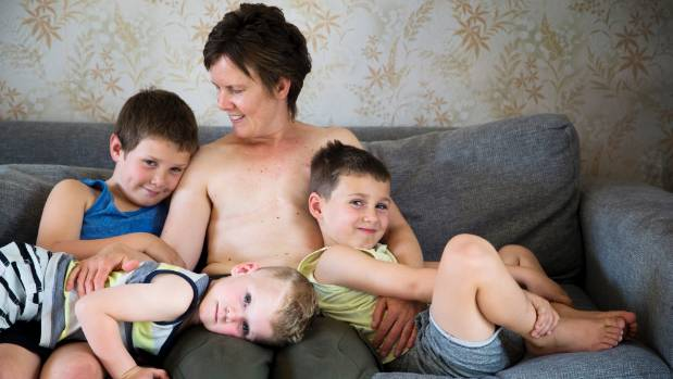 Mum-of-three leads campaign highlighting growing rate of breast cancer in young women