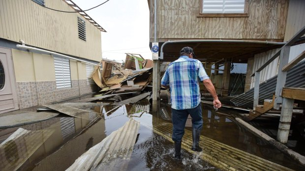Hurricane Maria a reminder of 'second-class' status for some