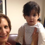 Iranian baby once barred from entering US 'thriving' after heart surgery