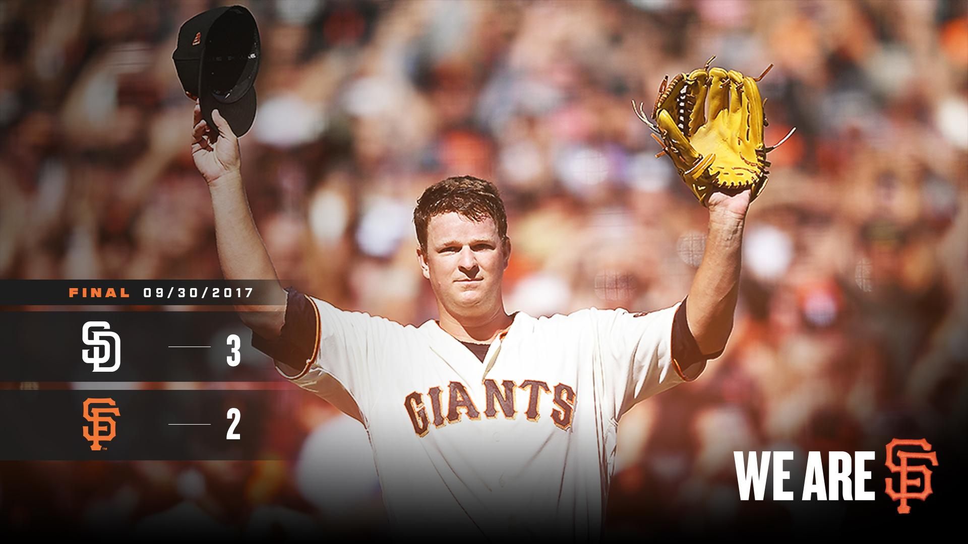 RECAP: Today was all about you! #ThanksCain | #SFGiants https://t.co/EjDYWVRJIG https://t.co/u7lv9J8KUW