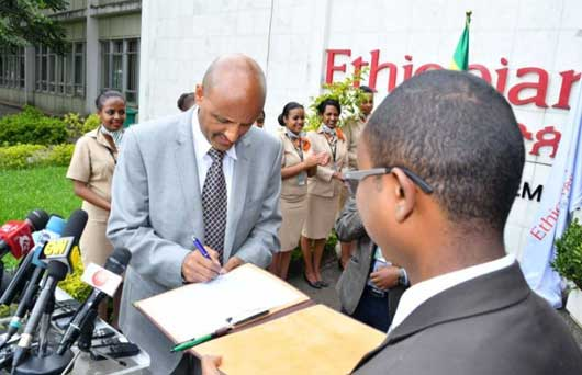 Ethiopian Airlines goes fully digital removing paper from its system