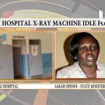 Kamuli government hospital X-Ray machine idle for years, patients pay for services