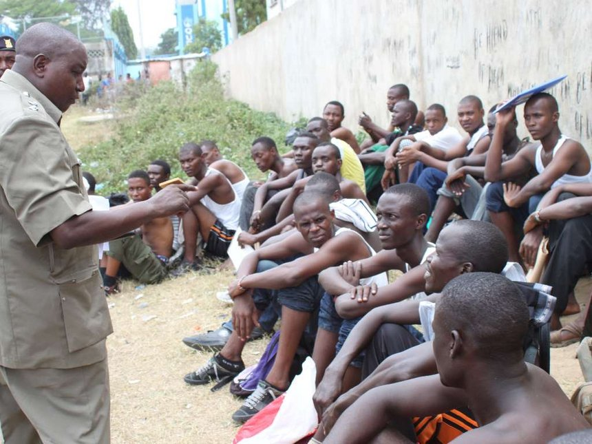 Kilifi vendor killed, 3 shot by prison officers, accounts differ