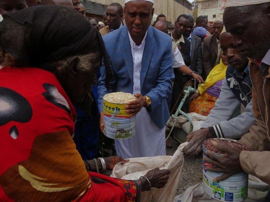 Distribution of relief food begins in Marsabit as drought bites