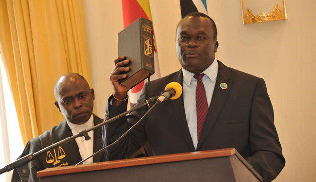 Justice Owiny-Dollo Sworn in as new Deputy Chief Justice