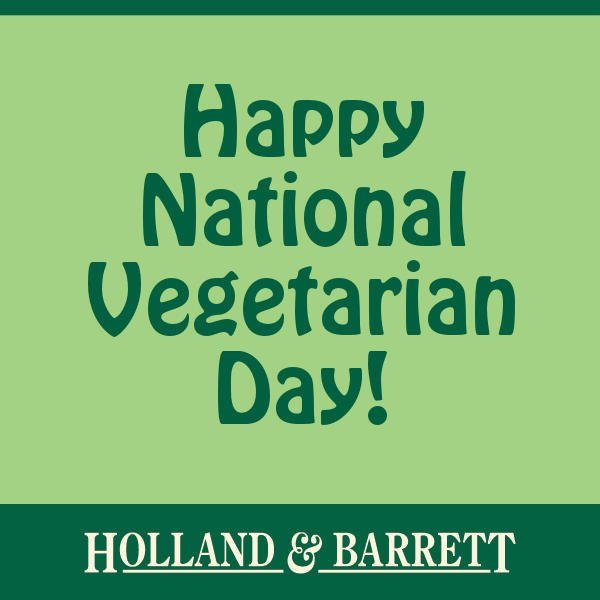 IT'S ONLY THE BEST DAY OF THE YEAR PEOPLE! (Apart from #NationalVeganDay, maybe 😘) #NationalVegetarianDay 💚 https://t.co/JEkMpD82OL