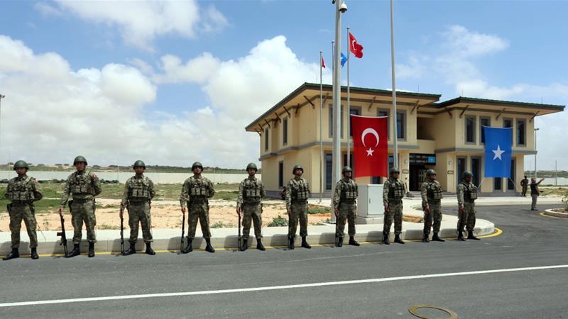 Turkey sets up largest overseas army base in Somalia