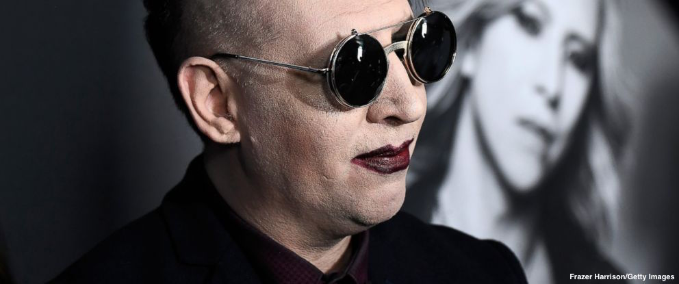 Marilyn Manson cuts short New York City show after he was injured by falling set piece