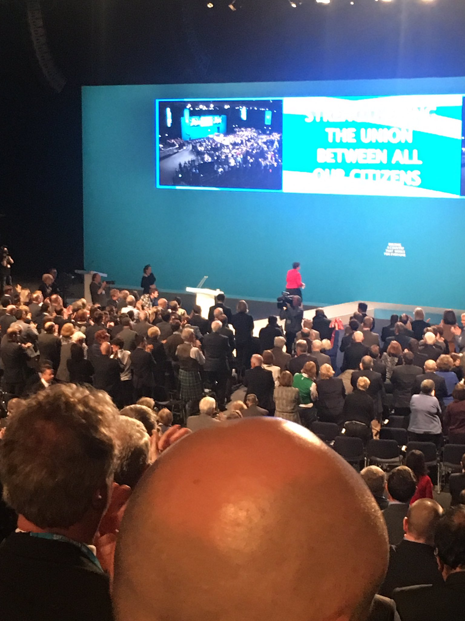 The star of Tory conference today was someone not in May's government https://t.co/WFkUVFF1ST