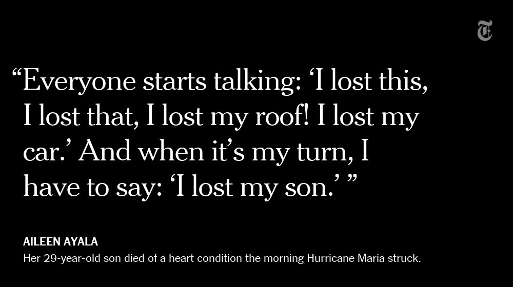 Aileen Ayala's son died of a heart condition the morning Hurricane Maria struck Puerto Rico https://t.co/oumqcbAurt https://t.co/2lqluRLgH0