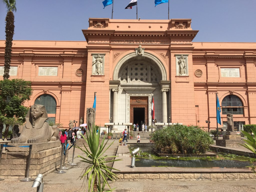 Couldn't leave #Egypt without experiencing the magical artefacts at the Egyptian Museum in #Cairo https://t.co/r3phOKgCcg