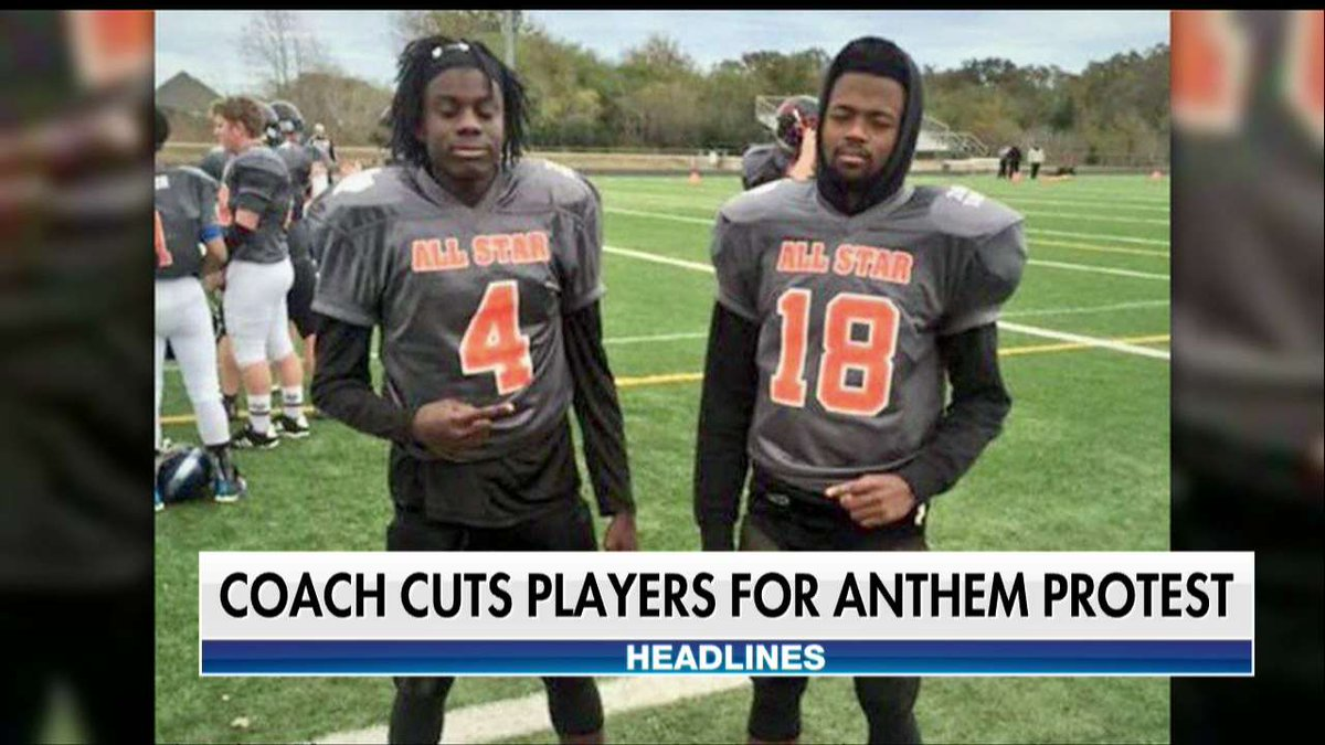 Teens Thrown Off High School Football Team After Kneeling for Anthem