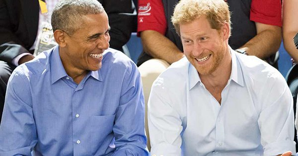 Prince Harry and Barack Obama just reminded us what friendship goals look like: