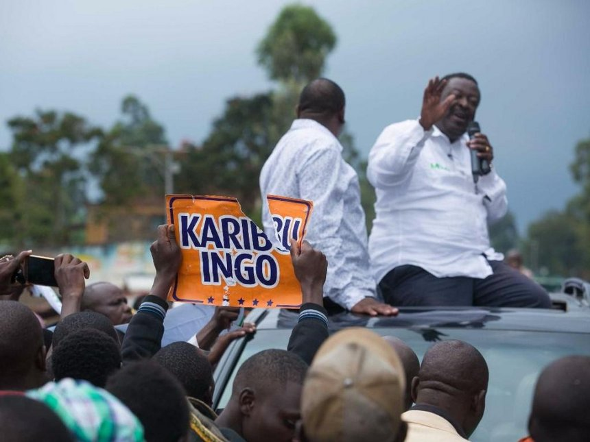 Raila's campaign gains momentum, to address two rallies in Busia today