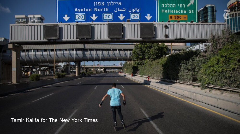 Skating through Tel Aviv's empty highways on Yom Kippur #Daily360 https://t.co/l8jY62qI29 https://t.co/BqgZ92ObBX
