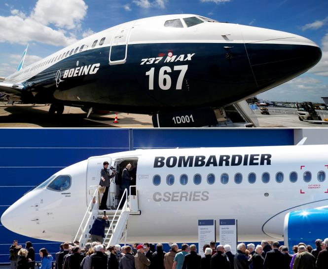 UK minister calls on Boeing to hold talks to end Bombardier dispute