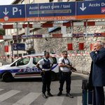 Two stabbed to death at Marseille train station, attacker shot
