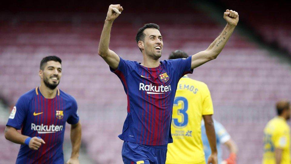 �� As imagens do #BarçaLasPalmas ���� https://t.co/laVXYxljmS