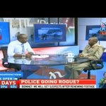 Police service on the spot over human rights violations