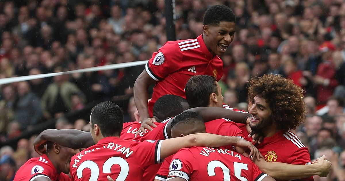 """Marcus Rashford is Manchester United's OTHER """"special"""" one purrs Juan Mata after starlet shines again in Crystal Palace thrashing"""