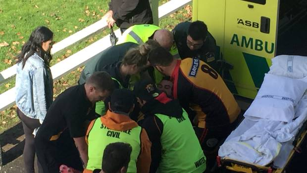 Thames Valley prop Hayden Anderson on the mend after near-death hospital stay