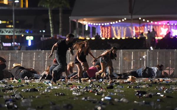 Police investigating a reported shooting at Mandalay Bay Resort in Las Vegas https://t.co/vk4eKIGLIo https://t.co/PicSwK4JId
