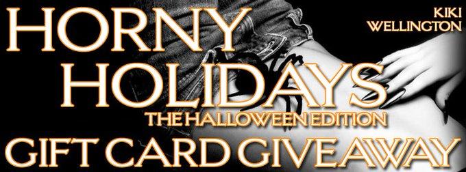 Horny Holidays: The Halloween Edition by Kiki Wellington ❤️ Spotlight & EXCLUSIVE Gift Card Giveaway ❤️ (Halloween Erotica)
