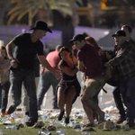 Gunshots heard at country music festival in Las Vegas