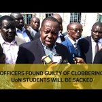 Officers found guilty of clobbering UoN students will be sacked