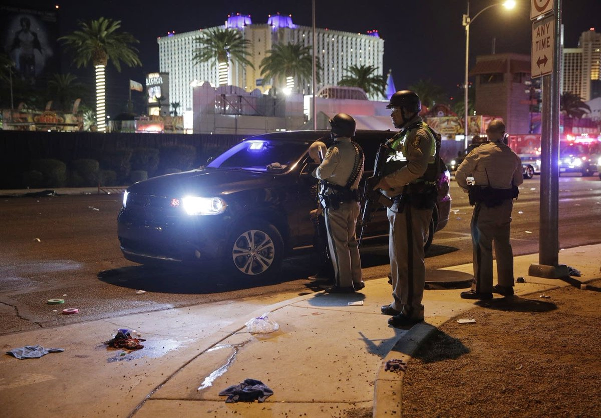 Nevada sheriff: At least 50 dead, 200 injured in Las Vegas concert shooting