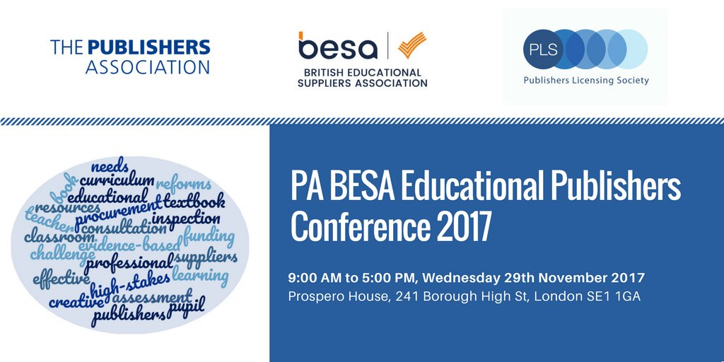 test Twitter Media - Pleased to announce #pabesa17 with @besatweet is back for educational publishers on 29 November.  Sign up at  https://t.co/X2HOTbXgIP https://t.co/uzKBj0wnY8