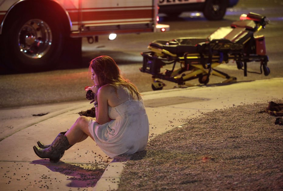 50 dead from worst mass shooting in US history at Las Vegas outdoor music festival