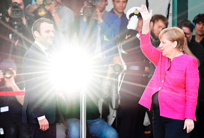 Never Fear!: Merkel Should Follow Macron's Lead on Europe