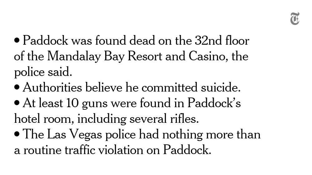 What we know about Stephen Paddock, the Las Vegas shooting suspect https://t.co/19vDKUlsT6 https://t.co/dGFxVno6bv