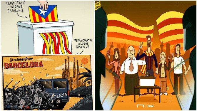 RT @CatalunyaRadio: Sàtira i crítica: l'#1OCT vist per il·lustradors internacionals https://t.co/4kFWIUUMMy https://t.co/77HjCYqxLh