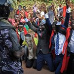 AGE LIMIT: Ugandan journalists protest