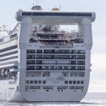 Season's first cruise ship arrival - the Golden Princess - just a week away