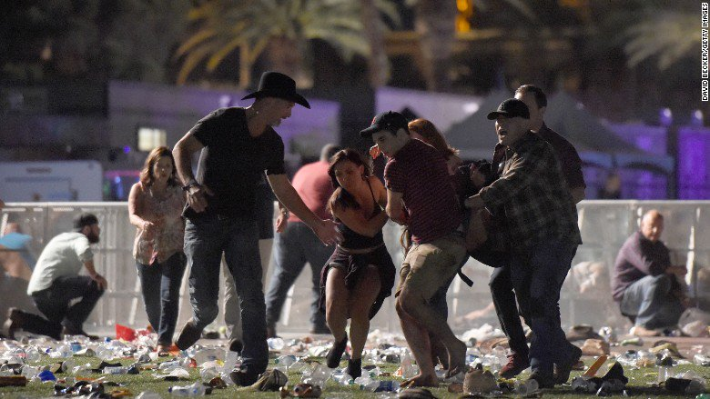 """The most unimaginable event"": Country music stars react to Las Vegas concert shooting"