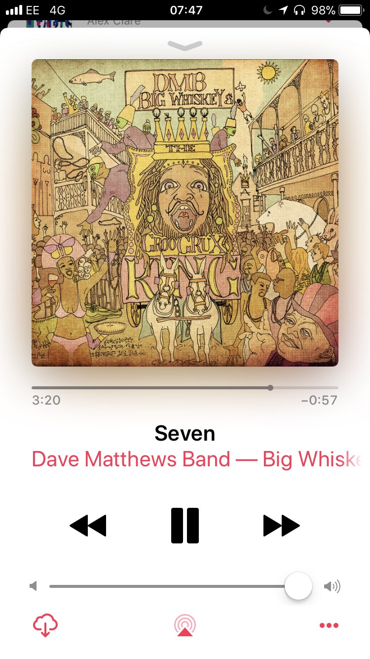 Great song. #nowplaying @davematthewsbnd https://t.co/ibuwQs54Aj
