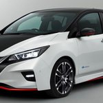 Nissan Leaf Nismo Concept Unveiled Prior To Tokyo Show Debut