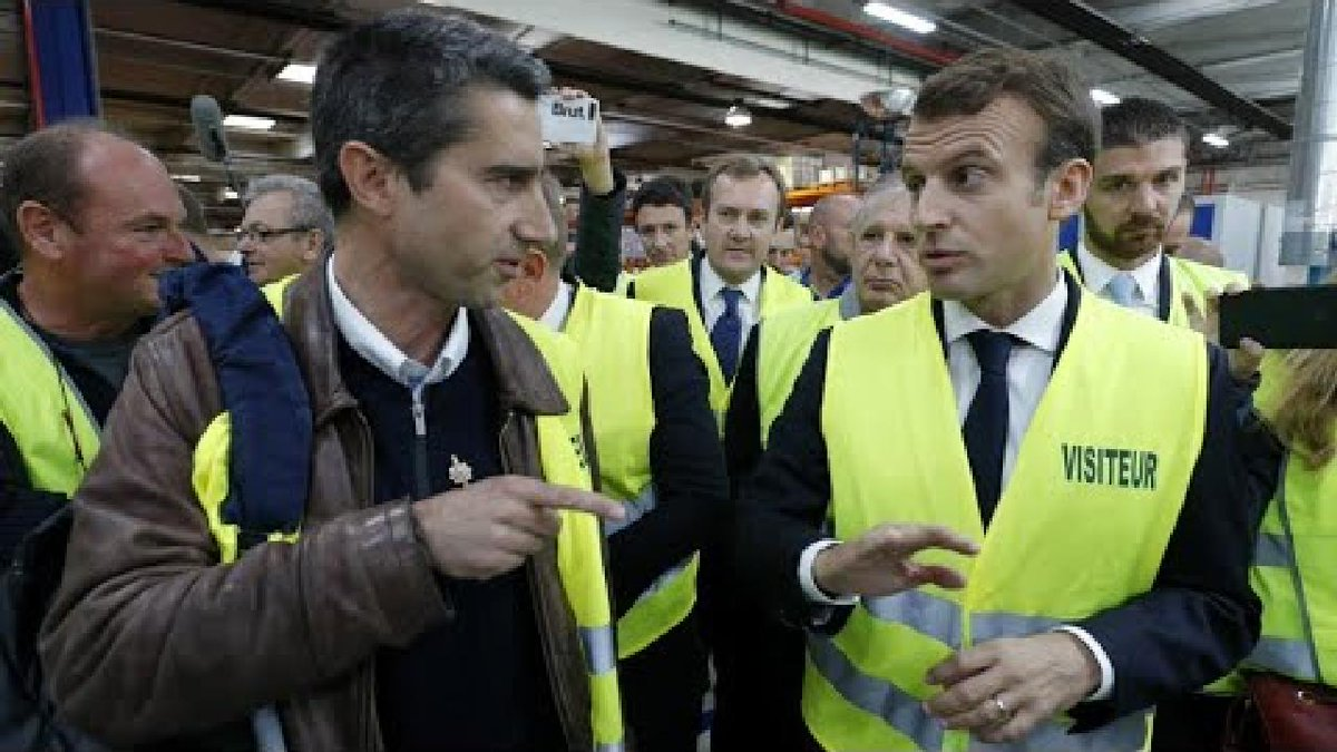 ?? France: Macron back to Whirlpool factory, symbol of battle for jobs